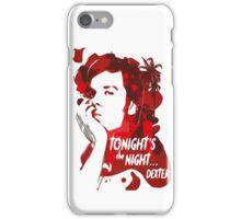 Dexter-blood iPhone Case/Skin