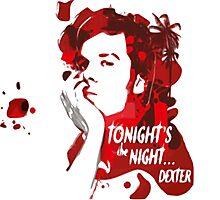 Dexter-blood Photographic Print