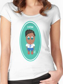 """Meet Dorian from """"The Nomadics"""" Women's Fitted Scoop T-Shirt"""