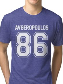 AVGEROPOULOS 86 Tri-blend T-Shirt