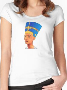 Nefertiti - queen of ancient Egypt Women's Fitted Scoop T-Shirt