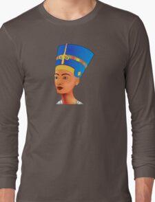 Nefertiti - queen of ancient Egypt Long Sleeve T-Shirt