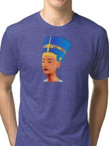 Nefertiti - queen of ancient Egypt Tri-blend T-Shirt