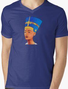 Nefertiti - queen of ancient Egypt Mens V-Neck T-Shirt