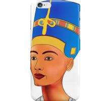 Nefertiti - queen of ancient Egypt iPhone Case/Skin