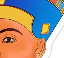 Nefertiti - queen of ancient Egypt Sticker
