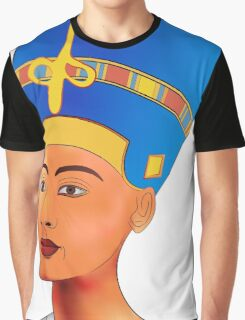 Nefertiti - queen of ancient Egypt Graphic T-Shirt