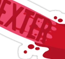 Dexter-Knife Sticker