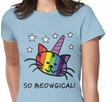 Unicorn Cat UniKitty So Meowgical T Shirt Womens Fitted T-Shirt