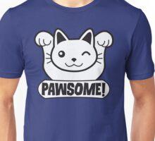 Pawsome Funny Cat T Shirt Unisex T-Shirt