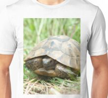 Tortoise in the meadow Unisex T-Shirt