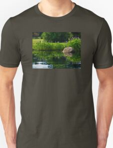 Pickerel at the Pond Unisex T-Shirt