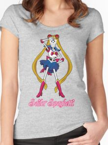 Undertale Sailor Papyrus Women's Fitted Scoop T-Shirt