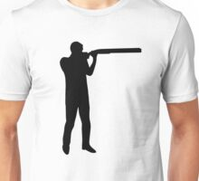 Trap shooting Unisex T-Shirt