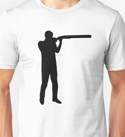 Trap shooting Unisex T-Shirt