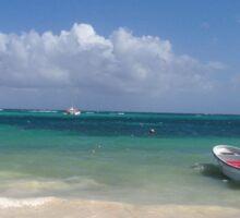 Paradise in Punta Cana Sticker