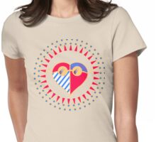 Love is Radically Blind (Color Ver.) Womens Fitted T-Shirt