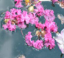 Flowers on Water Sticker