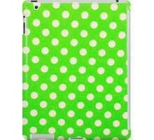 Foamiran polka dot texture iPad Case/Skin