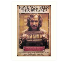 Sirius Black! Art Print