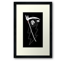 Angel of Death Metal Framed Print