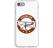 Aviation Emblem iPhone Case/Skin