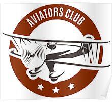 Aviation Emblem Poster