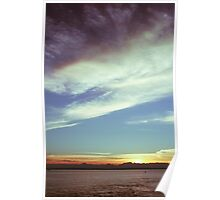 Sunset over the Puget Sound Poster