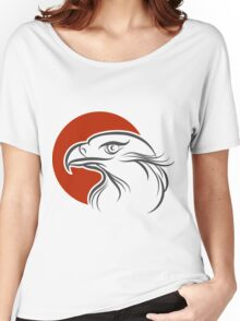 Eagle Emblem Women's Relaxed Fit T-Shirt