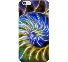 Nautilus Shell Abstract iPhone Case/Skin