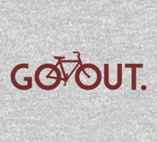 GO OUT (Red) by D & M MORGAN