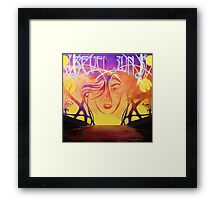 Violet Sedan Chair - Seven Suns Framed Print
