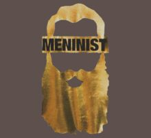 Meninist Limited Edition Gold Beard tshirts, hoodies and more by bazmetz
