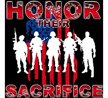 Honor their sacrifice Photographic Print