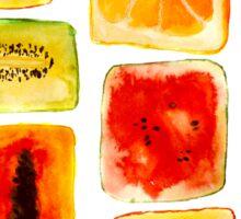 Juicy cubism Sticker