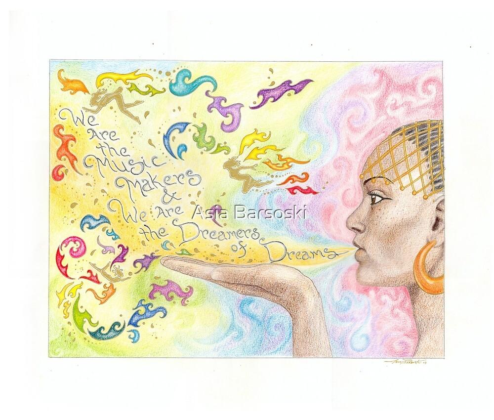 Inspiration respiration by Asia Barsoski