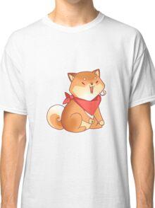 Rude Shiba Dog 4 - Burps Classic T-Shirt