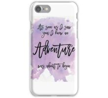 Word Art, Water colours,  iPhone Case/Skin