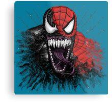 spiderman venom mash up Metal Print