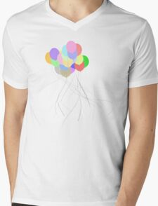 Balloonday Mens V-Neck T-Shirt