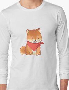 Rude Shiba Dog 3 - Chuchuw Long Sleeve T-Shirt