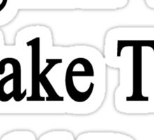 English Will Make The World Better  Sticker