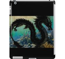 Underwater Dragon Parchment iPad Case/Skin