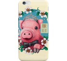 Year of the Pig iPhone Case/Skin