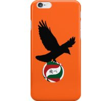 Haikyuu Karasuno crow - FLY iPhone Case/Skin