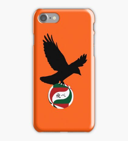 Haikyuu Karasuno crow - FLY iPhone Case/Skin