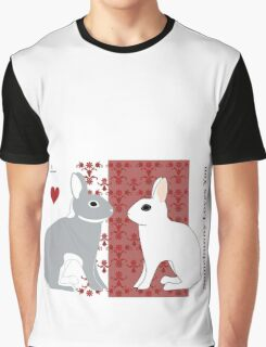 Somebunny Loves You Graphic T-Shirt