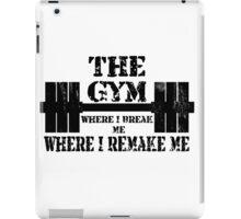 Gym Motivation iPad Case/Skin