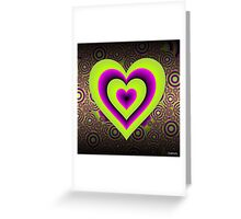 Expanding Heart Greeting Card