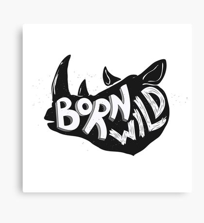 Born Wild Canvas Print